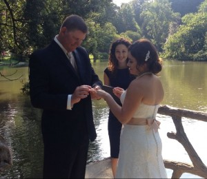 Wedding officiant Paris France