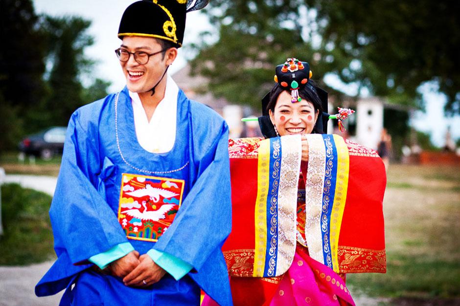 Cérémonie de mariage coréen
