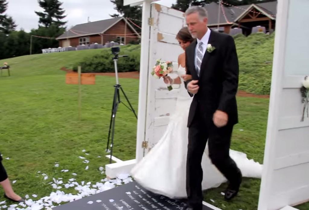 Entrée cérémonie mariage laïque