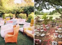 7 idées de décoration pour un mariage en extérieur