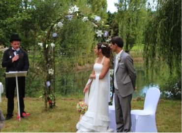 officiant de crmonie de notre mariage laic - Mariage Laic