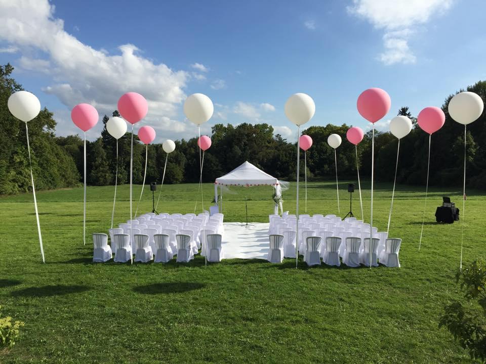 ballons dcoration - Lacher De Ballons Mariage