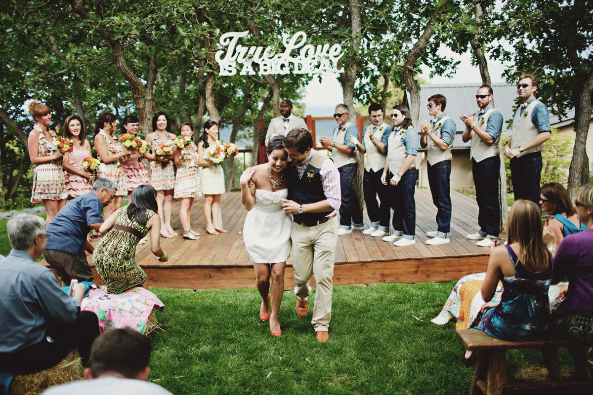 cérémonie laïque place des témoins bridesmaids groomsmen photo jonas peterson