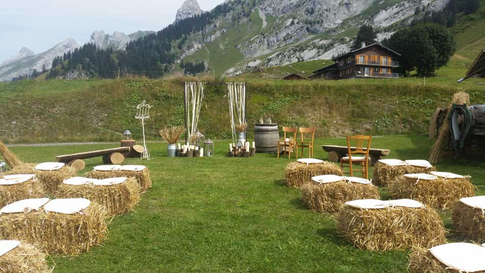 un mariage en montagne le d cor parfait pour un diy une belle c r monie. Black Bedroom Furniture Sets. Home Design Ideas